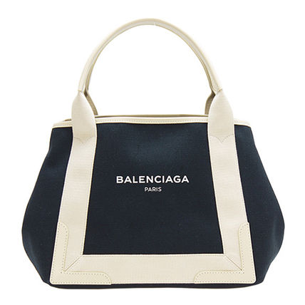 Balenciaga Handbags Casual Style Cambus Bi Color Plain