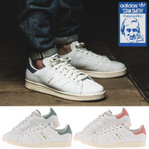 adidas STAN SMITH Unisex Street Style Plain Leather Sneakers