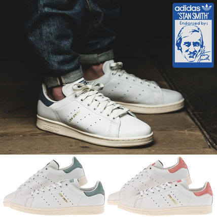 ... adidas Sneakers Unisex Street Style Plain Leather Sneakers ...