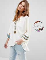 Free People Casual Style Long Sleeves Tops