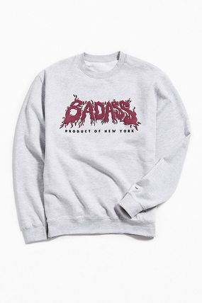 Crew Neck Pullovers Sweat Street Style Collaboration