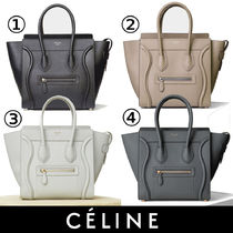 CELINE Luggage 18SS Micro Luggage Bag handbag 167793AQL