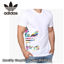 adidas Street Style Short Sleeves T-Shirts