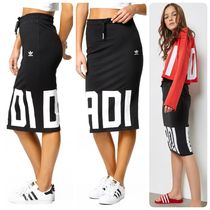 adidas Pencil Skirts Casual Style Street Style Skirts