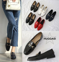 Handmade Office Style Loafer Pumps & Mules