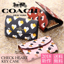 Coach Heart PVC Clothing Keychains & Bag Charms