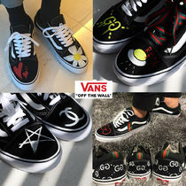 VANS OLD SKOOL Rubber Sole Casual Style Unisex Suede Studded Street Style