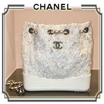 CHANEL Chain PVC Clothing Elegant Style Backpacks