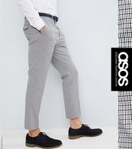 ASOS Other Check Patterns Cropped Pants