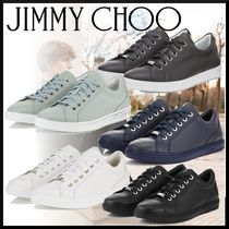 Jimmy Choo Driving Shoes Plain Leather Loafers & Slip-ons