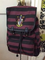 Primark Stripes Casual Style Canvas Backpacks