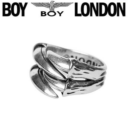 Casual Style Unisex Street Style Silver Rings