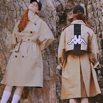 Charm's Unisex Street Style Plain Long Trench Coats