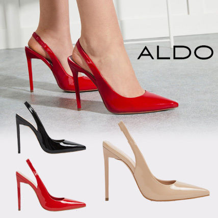 e75548b10c2e ALDO 2018 SS Plain Pin Heels Pointed Toe Pumps   Mules by RockyBoy - BUYMA
