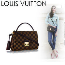 Louis Vuitton DAMIER Casual Style Canvas 2WAY Shoulder Bags