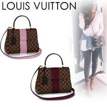 Louis Vuitton Casual Style Canvas Blended Fabrics 2WAY Handbags