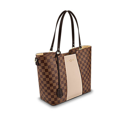 Louis Vuitton Totes Casual Style Canvas Blended Fabrics A4 2WAY Totes 3