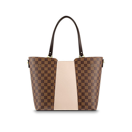 Louis Vuitton Totes Casual Style Canvas Blended Fabrics A4 2WAY Totes 5