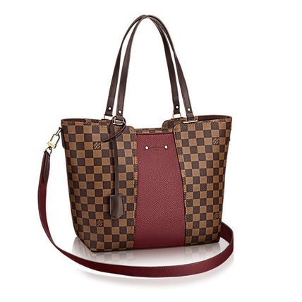 Louis Vuitton Totes Casual Style Canvas Blended Fabrics A4 2WAY Totes 9