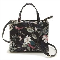 kate spade new york SAM Flower Patterns Casual Style 2WAY Handbags