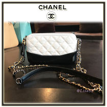 CHANEL MATELASSE 2WAY Bi-color Chain Elegant Style Shoulder Bags