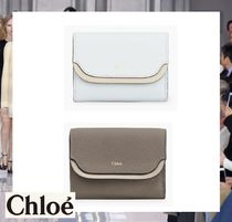 Chloe Leather Folding Wallets