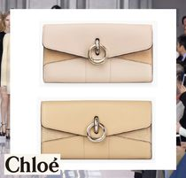 Chloe Leather Long Wallets
