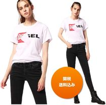 DIESEL Casual Style Cotton Short Sleeves T-Shirts