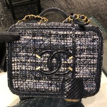 CHANEL Lambskin Vanity Bags 2WAY Chain Elegant Style Shoulder Bags