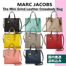 MARC JACOBS Casual Style 2WAY Plain Leather Handbags