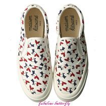 MAISON KITSUNE Other Animal Patterns Low-Top Sneakers