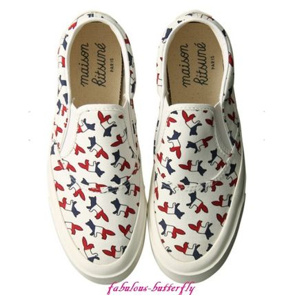 Other Animal Patterns Low-Top Sneakers