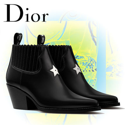 Christian Dior 2018 Star Ankle Boots