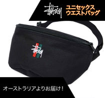 STUSSY Casual Style Street Style Plain Shoulder Bags