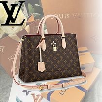 Louis Vuitton MONOGRAM Monoglam FLOWER TOTE Handbags