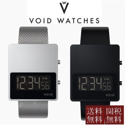 Casual Style Unisex Square Digital Watches