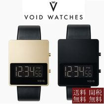 VOID WATCHES Casual Style Unisex Square Quartz Watches Digital Watches
