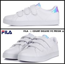 FILA Court Deluxe Casual Style Unisex Low-Top Sneakers