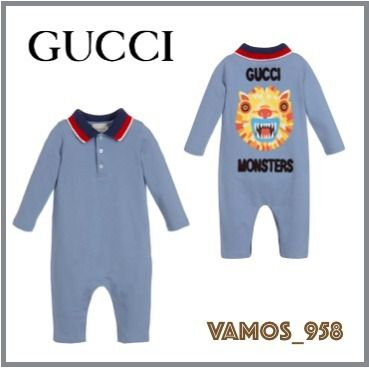 e2536742b0b ... GUCCI Baby Girl Dresses   Rompers Unisex Street Style Baby Girl Dresses  ...