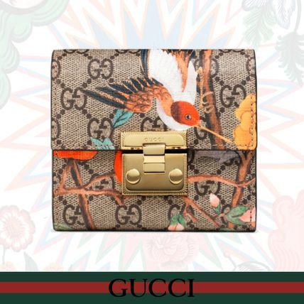 newest 67cf0 bc75a GUCCI 2018 SS Leather Folding Wallets (453155 K0L2G 8691)