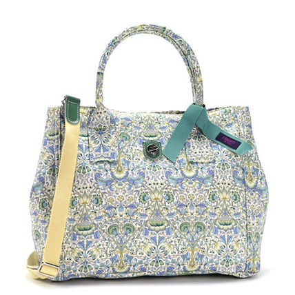 Flower Patterns Casual Style A4 Shoulder Bags