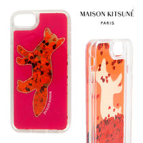 MAISON KITSUNE Heart Unisex Other Animal Patterns Smart Phone Cases