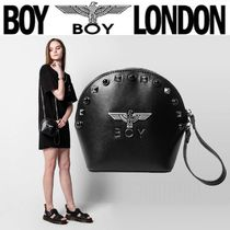 BOY LONDON Casual Style Faux Fur Street Style Chain