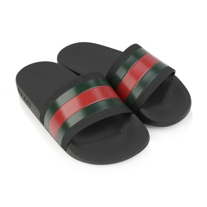 GUCCI 2018 SS Unisex Street Style Kids Girl Sandals