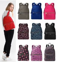 Michael Kors Flower Patterns Casual Style Nylon Plain Backpacks