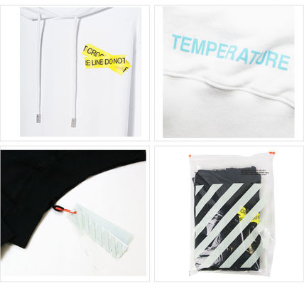 Off-White Hoodies Crew Neck Pullovers Sweat Street Style Long Sleeves 4