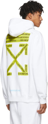 Off-White Hoodies Crew Neck Pullovers Sweat Street Style Long Sleeves 6