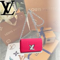 Louis Vuitton EPI Epi TWIST CHAIN WALLET Shoulder Bags
