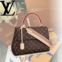 Louis Vuitton MONOGRAM Monoglam CLUNY MM Handbags