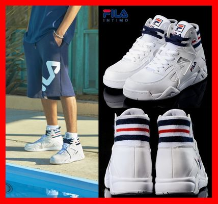 FILA 2018 SS Casual Style Unisex Street Style Low-Top Sneakers